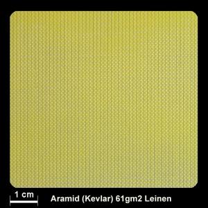 Aramidgewebe 120  61g/m² Leinw.100cm