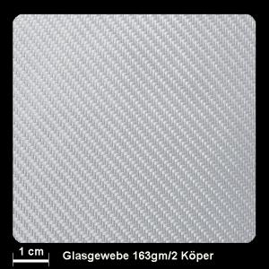 Glasgewebe FK-144 163g/m² Köper 150cm