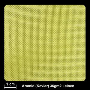 Aramidgewebe 240   36g/m² Leinw.100cm