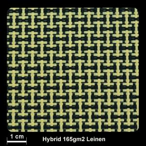 Hybrid CF/AF 58/42 165g/m² Lwd.100cm