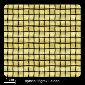 Hybrid CF/AF 29/71  96g/m² Lwd.100cm