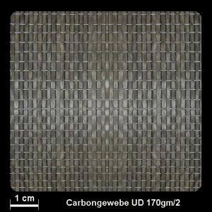 Carbongew. 761UD 170g/m² Unid. 100cm