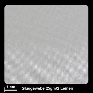 Glasgewebe FK800  25g/m² Leinwand 110cm