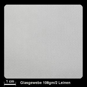 Glasgewebe 91106 108g/m² Leinwand 105cm