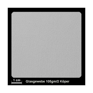 Glasgewebe 91111 105g/m² Köper 1/3 100cm