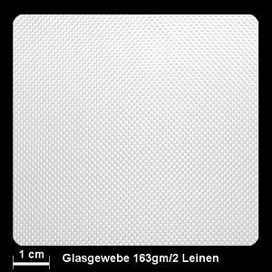 Glasgewebe 92100 163g/m² Leinwand 100cm