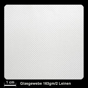 Glasgewebe 92105 163g/m² Leinwand 100cm