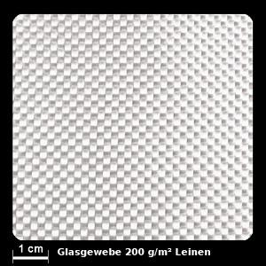 Glasgewebe 92112 200g/m² Leinwand 100cm