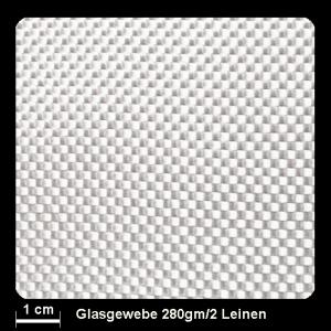 Glasgewebe 92115 280g/m² Leinw.100cm