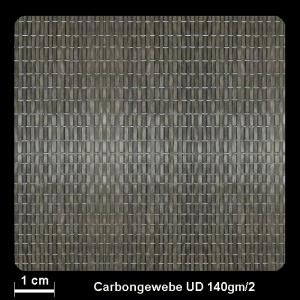 Carbongew. 763UD 140g/m² Unid. 100cm