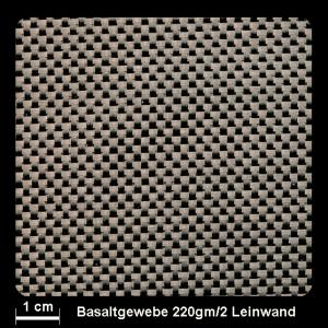 Basalt Gewebe 220g/m² Leinwand 150cm