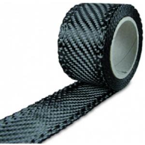 Carbonband 200g/m² Köper  180mm, per m