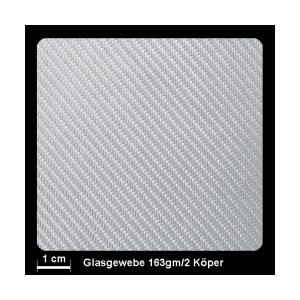 Glasgewebe Silan 163g/m² Köper 100cm