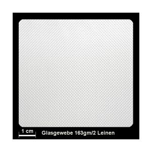Glasgewebe Silan 163g/m² Leinw.100cm