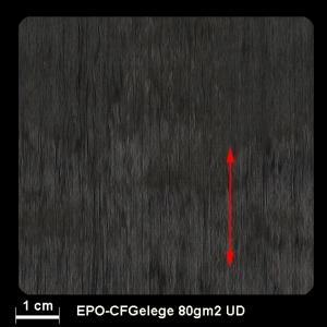 Carbongelege UD     80g/m²  300mm