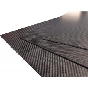 Carbon-Prepreg-Platten 0,6mm