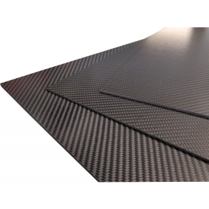 Carbon-Prepreg-Platten 2.0mm