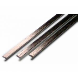 Carbon-Halbrundprofil 1000 mm