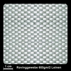 Rovinggewebe Band 600gm² Leinwand