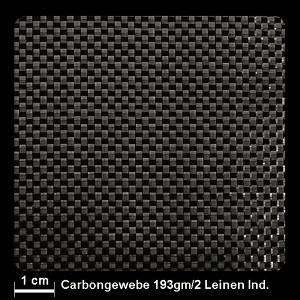 Carbongewebe Ind.   200g/m² Leinw 100cm