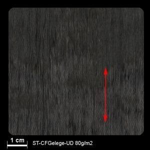 ST CF-Gelege UD 80g/m² 100cm, per m