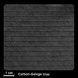 SCS-Carbongelege triax 605g/m² 127cm