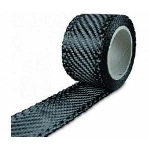 Carbonband 205g/m² Köper  40mm, per m