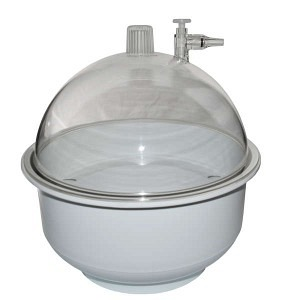 Exsikkator (Vakuumglocke) 9,2 Liter / Ø 250 mm