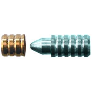 Passdübel Grösse 3, 8.0mm Messing/Stahl